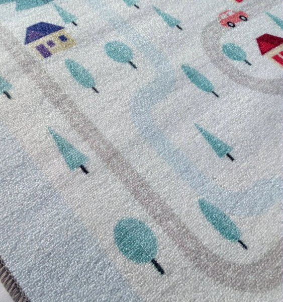 Spielteppich Happy Rugs PLAYLOVE MOUNTIAN  90x130 cm