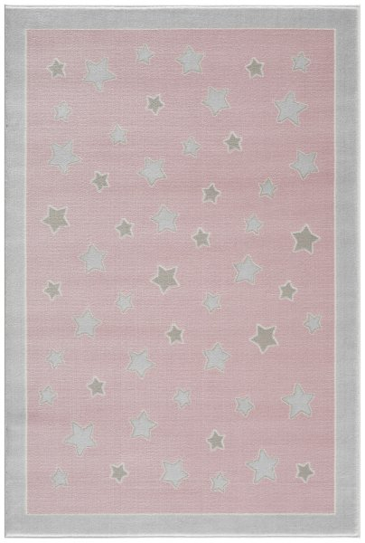 Kinderteppich Happy Rugs PLANET rosa 160x230cm