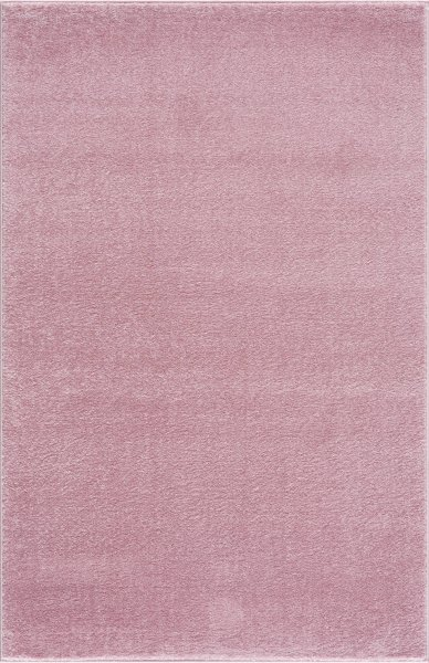 Kinderteppich Happy Rugs UNI rosa 160x230cm